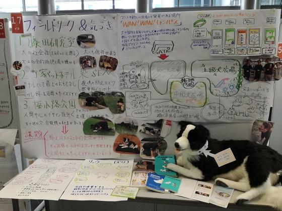 京都大学の学生さんたちが宿見学発表