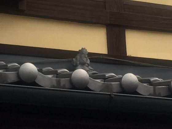 過去分 京町家ならでは⭐️にらみがえし、みーつけたっ✨