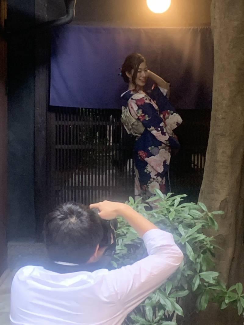 青柿で写真撮影会がおこなわれました!