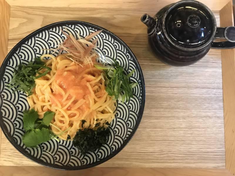 もちもち生麺 お出汁明太子スパゲッティー