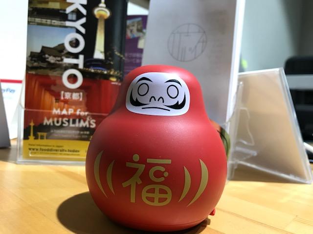 Daruma Cleverin @Gojo front desk