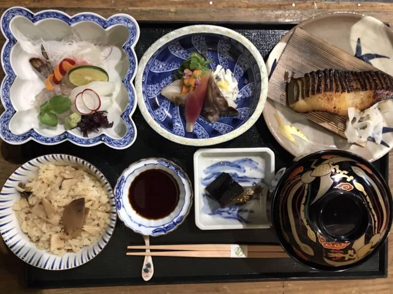 Food testing.. KINOBU(Kaiseki Lunch)