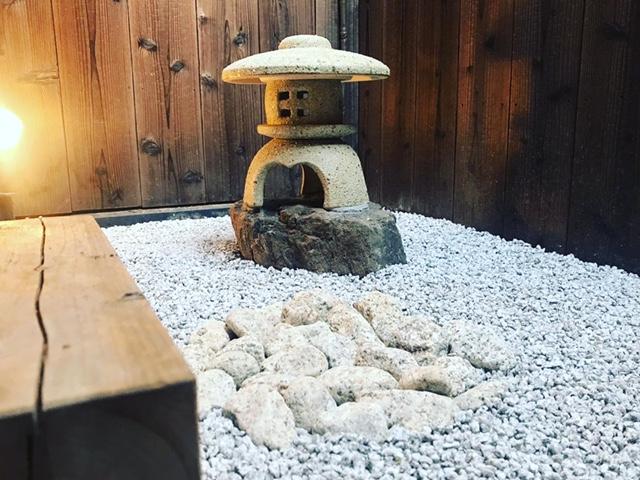 New Japanese style Garden at KOSETSU...!