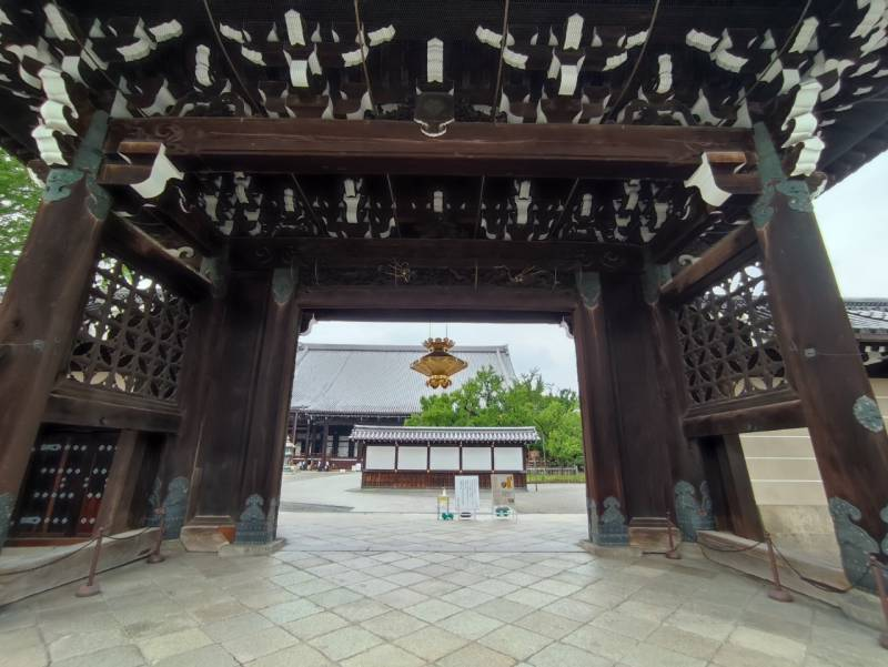 Went to NISHI HONGANJI Temple ♪♪♪